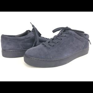 Vince Suede Sneakers Lace Up Fashion Sneakers